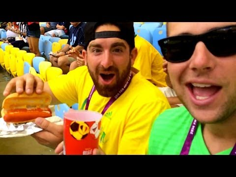 Dude Perfect Invades A World Cup Game!