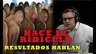 Mauricio Funes HACE CHANGONETA DE ESFUERZOS EN SEGURIDAD