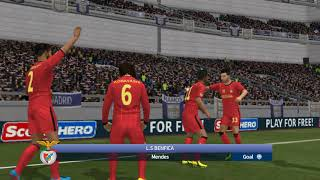 Hack dream league soccer 17!!  Real Madrid VS My Benfica Squad