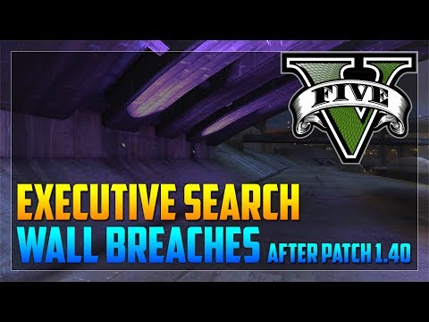 Top 50 Executive Search Wall Breaches After Patch 1.40 (GTA 5 Online)