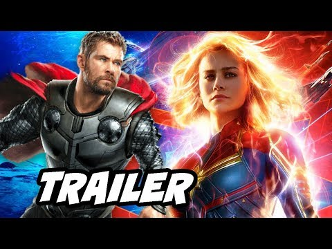 Captain Marvel Trailer 2 – Avengers 4 Easter Eggs Breakdown