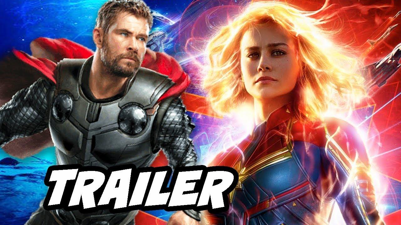 Download Captain Marvel Trailer 2 - Avengers 4 Easter Eggs Breakdown