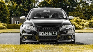 Audi RS4 - BETTER Than a BMW M3?