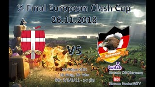 ECC semi-final | ECC Germany vs ECC Denmark | Recap | Clash of Clans