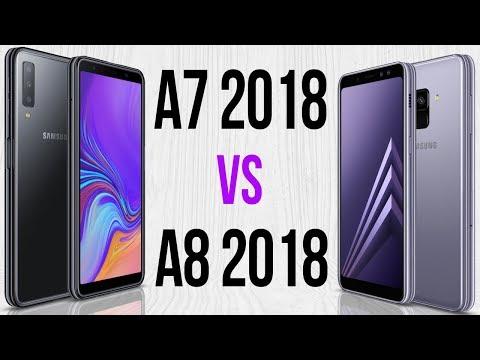 A7 2018 vs A8 2018 (Comparativo)