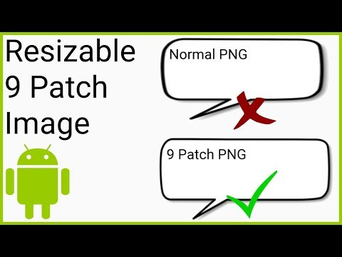 Create Resizable 9 Patch Images - Android Studio Tutorial