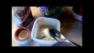 Как сделать хлебную закваску.