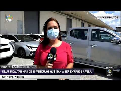 EE.UU - 81 vehículos que serían enviados a Venezuela fueron incautados por la justicia - VPItv