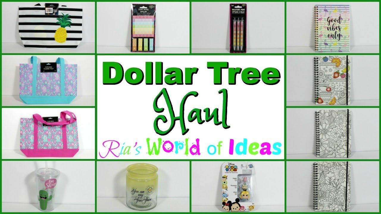 Dollar Tree Haul May 2018 Part 1 - YouTube