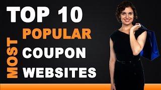 Best Coupon Websites - Top 10 List