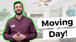 Home Buyer Tips: Moving Day #movemetotx