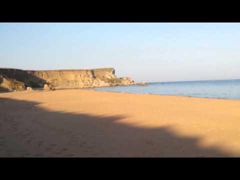 Дикий пляж на Черном море, Керченский полуостров