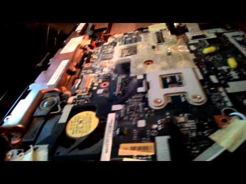 Ремонт ноутбука Packard Bell(Q5WS1). чистка и замена термо пасты.(детальная разборка и сборка)