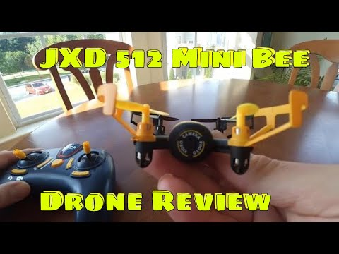 JXD 512V Mini UFO Drone Review.  I love this little Drone!!!!