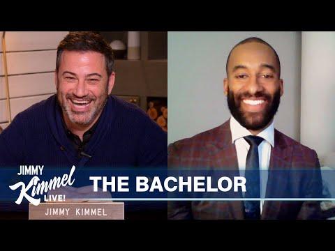 Matt James on Being The Bachelor, Final Three Women & $10,000 Challenge for Jimmy Kimmel's Agent