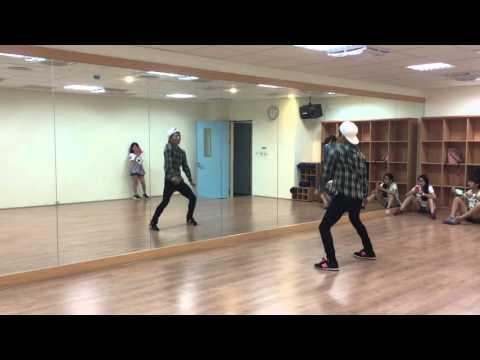 Dance class:SNSD-I think week 1 分解動作