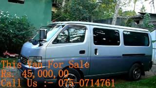 Nissan Caravan ZD30 for sale