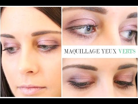maquillage yeux verts cyrielle youtube. Black Bedroom Furniture Sets. Home Design Ideas