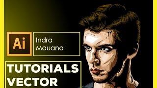 Tutorial Creating Vector Abstract / Line Art Using Adobe Illustrator