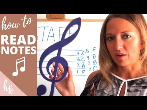 Violin Lessons - How to Read Music