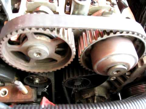 2 0 VCT Ford timing belt - YouTube