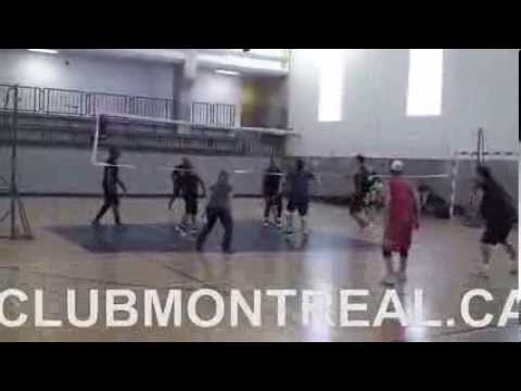 Club Montréal Sport & Social - Court Volleyball / Volleyball Gymnase