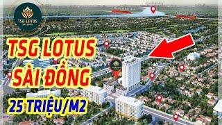 Thiết Kế & Giá bán Chung Cư TSG LOTUS SÀI ĐỒNG LONG BIÊN - 0916.981089