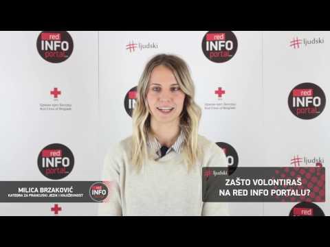 Red Info Portal - Prvi video intervju redakcije