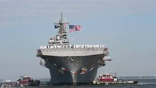 USS Kearsarge Amphibious Ready Group Returns to Homeport