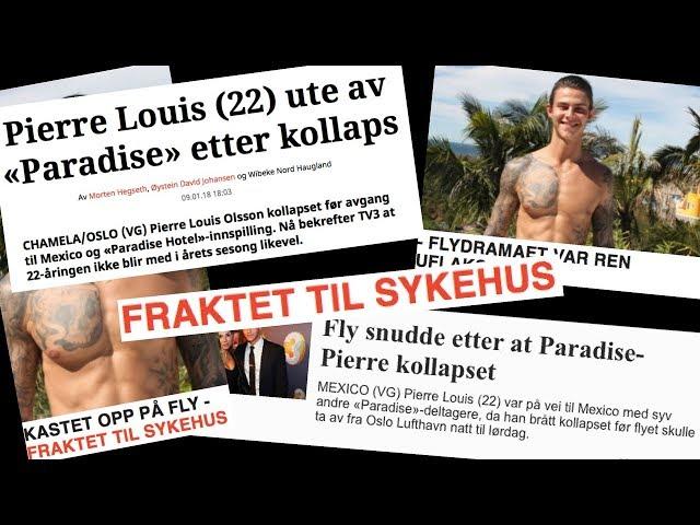 KOLLAPS PÅ FLYGET - INGEN PARADISE HOTEL??
