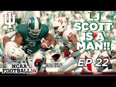 NCAA Football 14 Dynasty   Indiana Hoosiers - East Lansing is SINGING! - Ep 22