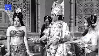 """Sri Krishna Teasing Rukmini""- Sri Krishna Vijayam Movie || NTR | SVR| Jayalalithaa | Jamuna"