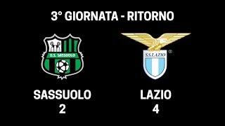 Sassuolo - Lazio 2-4 - Serie A Fair Play FreeCom ADSL