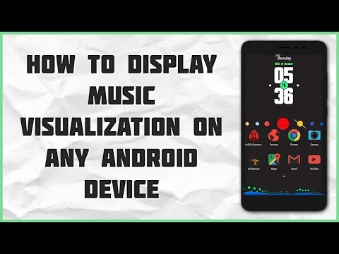 How to add Music Visualization on any Android