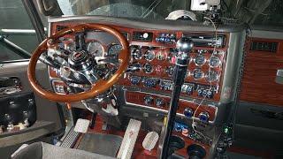 Кап ремонт двигателя САТ С15 двух турбинного. Kenworth T600