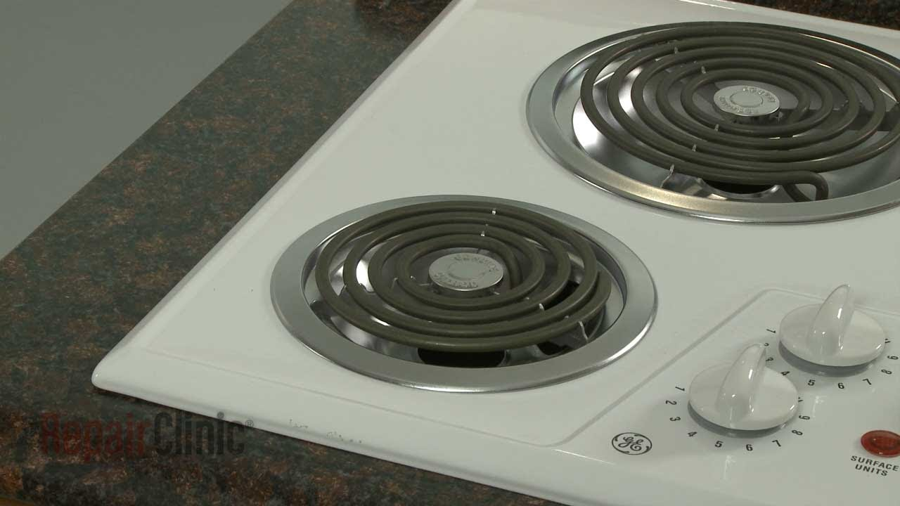 Captivating GE Electric Cooktop Coil Surface Element Replacement #WB30M1   YouTube