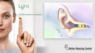 Lyric the ONLY Extended Wear Hearing Aid, 45-day Risk-Free Trial