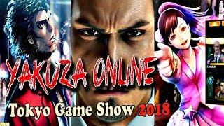 ★ Yakuza Online Tokyo Game Show 2018 Trailer ★ Haruka Gameplay and Kiryu Reveal!
