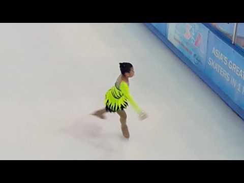 Freestyle 4 Female 9 Years ( Asia 's Largest Ice Skating Competition ) 2016