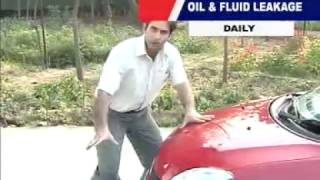 How to check Oil & Fluid Leakage