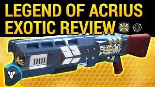 Destiny 2: Legend of Acrius Review