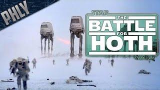 Star Wars - Battle OF HOTH! AT-AT Walker Invasion! (Star Wars Battlefront 2 Gameplay)