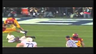 Here comes the boom  Biggest NCAA and NFL hits   HD720P