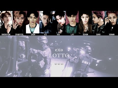 EXO - Lotto MV + Lyrics Color Coded HanRomEng