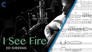 Flute - I See Fire (The Hobbit) - Ed Sheeran - Sheet Music, Chords, & Vocals