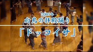 【岐阜県郡上市】2005年 白鳥の拝殿踊り2「ドッコイサ」