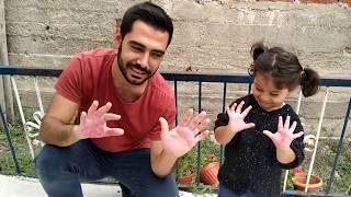 Ayşe Ebrar Learn Colors With Colorful Balloons| Mainan dan lagu anak-anak