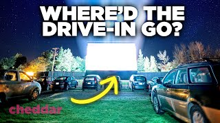 The Rise And Fall Of The Drive-In Theater - Cheddar Explains