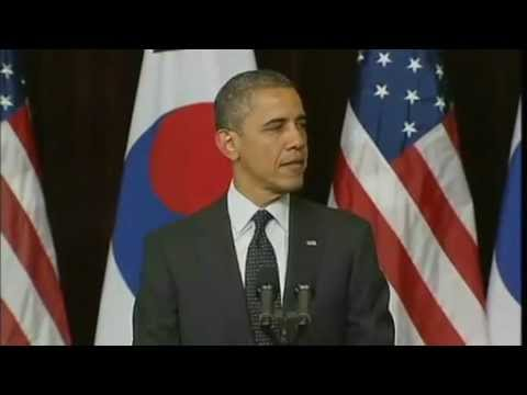 Obama warns North Korea, Iran on nuclear...