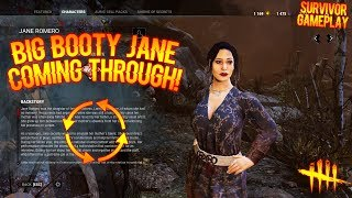 BIG BOOTY JANE COMING THROUGH! - Survivor Gameplay - Dead By Daylight